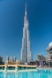 Burj al Khalifa wysoki budynek w świacie Fotografia Stock