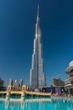 Burj al Khalifa wysoki budynek w świacie Zdjęcia Stock