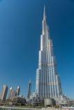 Burj al Khalifa wysoki budynek w świacie Zdjęcie Royalty Free