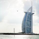 Burj alarab Royaltyfri Foto