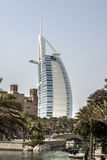 Burj alarab, Dubai arkivbild