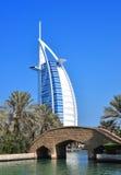 Burj Arab Hotel. This image was taken in Madinate Souq, Dubai Stock Photography