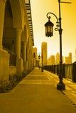 Burj del centro Doubai Fotografia Stock Libera da Diritti