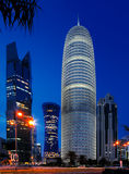 Burj Doha Tower of Qatar Stock Image