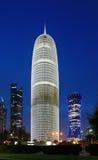 Burj Doha Tower of Qatar Royalty Free Stock Photography