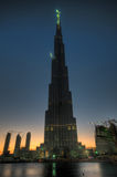 Burj Dubai Royalty Free Stock Photo