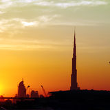 Burj Dubai Royalty Free Stock Image