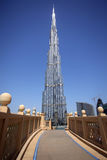 Burj dubai Stock Photo