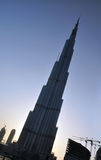 Burj Dubai 3. Burj Dubai, the tallest building in the world Stock Images