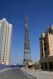 Burj Dubai Imágenes de archivo libres de regalías