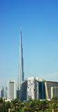 Burj Dubai (Burj Khalifa) Royalty Free Stock Photo