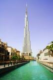 Burj Dubai dentro da baixa Imagens de Stock