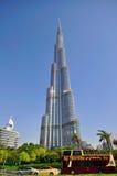 Burj Dubai, det mest högväxt i världen Arkivfoto