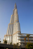 Burj Dubai, Dubai, UAE Royalty Free Stock Photography