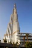 Burj Dubai, Dubai, UAE. Image of the world's tallest building, the Burj Dubai, also known as the Burj Khalifa at Dubai, United Arab Emirates Royalty Free Stock Photography