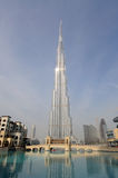 Burj Dubai - Highest Skyscraper in the World Royalty Free Stock Image