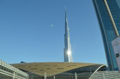 burj Dubai khalifa wysoki wierza uae światowy Zdjęcia Stock