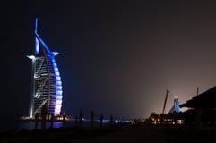 Burj dubai at night, Dubai Royalty Free Stock Photo