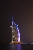 Burj dubai at night, Dubai Royalty Free Stock Photography