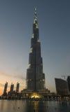 Burj Dubai - o arranha-céus o mais elevado no mundo Fotos de Stock