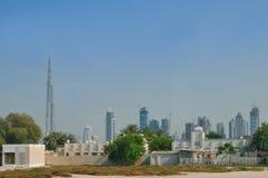 burj Dubai panorama Fotografia Royalty Free