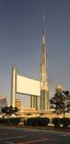 Burj Dubai from Sheikh Zayad Road Royalty Free Stock Photo