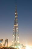 Burj  Dubai  tallest building in the world Royalty Free Stock Photo