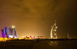 Burj El arab Dubai Royaltyfri Fotografi