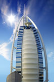 Burj el arab uae dubai monument Royalty Free Stock Images