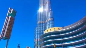 Burj för al för Dubai burjkhalifa arabisk arkivfoton