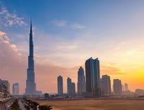 Burj Khaleefa Dubai Royaltyfria Bilder