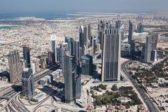 burj khalifa视图 库存图片