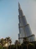 Burj Khalifa,迪拜,阿拉伯联合酋长国 免版税库存图片