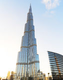 Burj Khalifa à Dubaï images stock