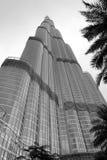 Burj Khalifa από κάτω από Στοκ Φωτογραφίες