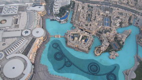 Burj Khalifa η γέφυρα παρατήρησης Στοκ Εικόνες