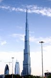 Burj Khalifa, Ντουμπάι Στοκ φωτογραφία με δικαίωμα ελεύθερης χρήσης