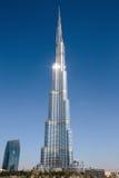Burj Khalifa - ο παγκόσμιος πιό ψηλός πύργος σε στο κέντρο της πόλης Burj Ντουμπάι Στοκ εικόνες με δικαίωμα ελεύθερης χρήσης