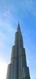 burj khalifa του Ντουμπάι Στοκ Εικόνα