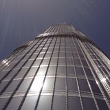 burj khalifa του Ντουμπάι στοκ εικόνες με δικαίωμα ελεύθερης χρήσης