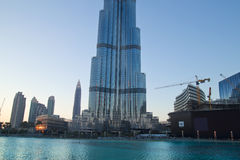 burj khalifa του Ντουμπάι Στοκ Φωτογραφίες