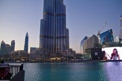 burj khalifa του Ντουμπάι Στοκ Φωτογραφία