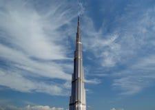 Burj Khalifa (башня Khalifa), известное как Burj Дубай до своей инаугурации, Объединенные эмираты Стоковые Изображения RF