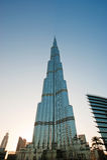 Burj Khalifa (башня Khalifa), известное как Burj Дубай до своей инаугурации, Объединенные эмираты Стоковые Изображения