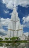 Burj Khalifa (башня Khalifa), известное как Burj Дубай Стоковые Фотографии RF