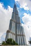 Burj Khalifa, Дубай, ОАЭ Стоковая Фотография