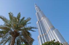 Burj Khalifa Дубай Стоковые Фотографии RF