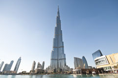 Burj Khalifa Дубай Стоковые Изображения