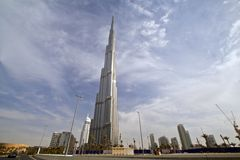 Burj Khalifa 01 Royalty Free Stock Images