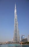 Burj Khalifa. The image of Burj Khalifa tallest building in the world located in Dubai Stock Photography